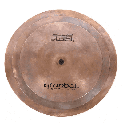 """Istanbul Agop Clap Stack 11/13/15"""" Cymbal Trio"""