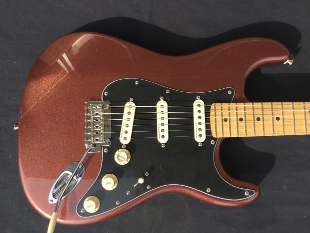 Fender Deluxe Roadhouse Stratocaster Copper Free Shipping
