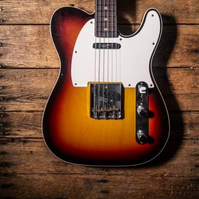 (Video) Fender Custom Shop Limited 1959 Telecaster Custom Chocolate 3 Tone Sunburst (Hand Selected)