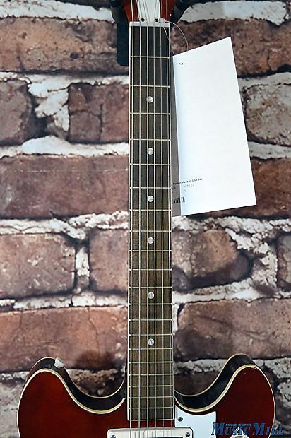1968 harmony rocket h54 semi hollow electric guitar sunburst reverb. Black Bedroom Furniture Sets. Home Design Ideas
