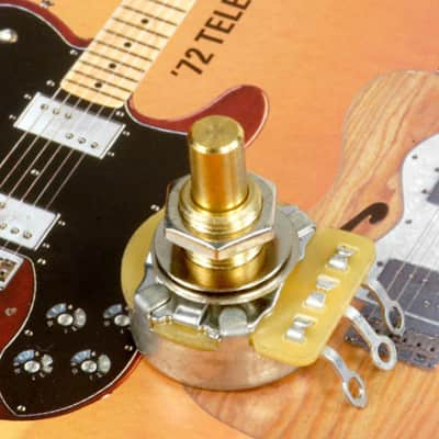 Genuine Fender Guitar And Bass Parts 0990835000 Fender CTS 500K Solid Shaft Pot image