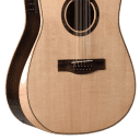 Teton STS150CENT-AR-12 Spruce/Rosewood Armrest Dreadnought 12-String Acoustic Electric image