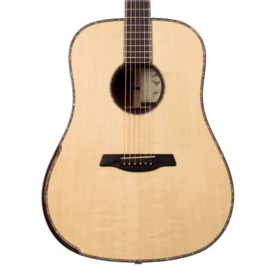 Maestro Guitars Private Collection Rosetta MRSBSX Bearclaw Spruce / Madagascar Rosewood Dreadnought for sale
