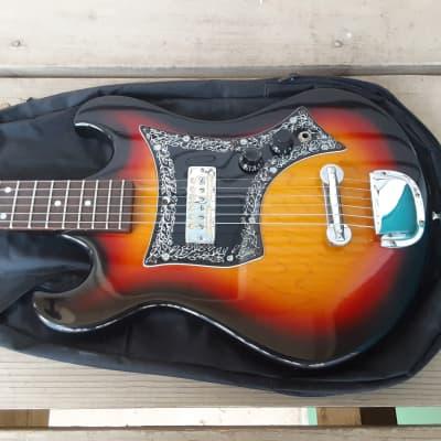 Vintage 1960's Schafer EG901 Electric Guitar! Gold Foil Pickup, Teisco Tulip Japan! for sale