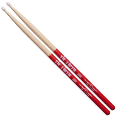 Vic Firth American Classic 5A Vic Grip Drumsticks Nylon Tip