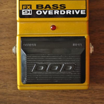 DOD FX91 Bass Overdrive (Made In China)