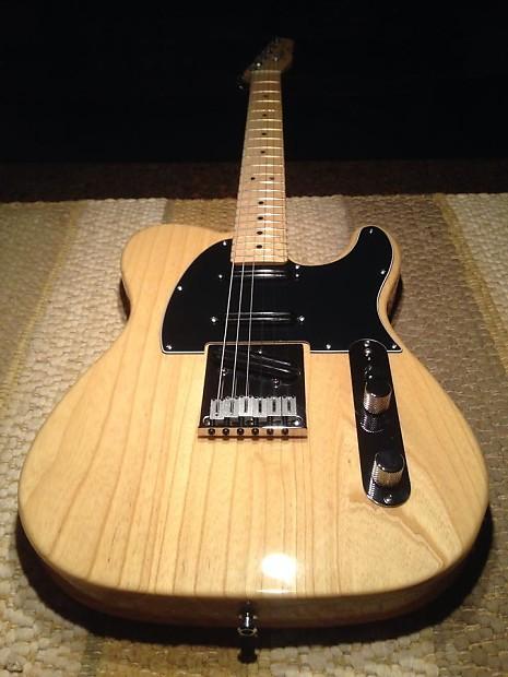 Fender American Standard Nashville Telecaster Natural Reverb