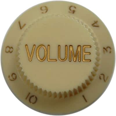 Fender Strat Volume Knob (Cream)