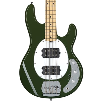 Sterling by Music Man Ray4HH Bass Guitar in Olive for sale