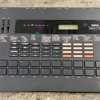 Vintage 1980's Yamaha  Rx7 digital  Rhythm Programmer drum machine