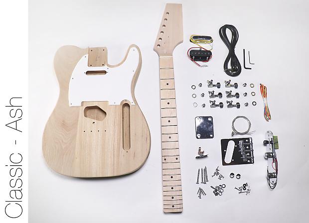 Fretwire Diy Guitar Kit : the fretwire diy electric guitar kit tele style ash body reverb ~ Russianpoet.info Haus und Dekorationen