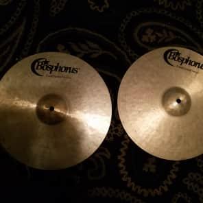 """Bosphorus 14"""" Traditional Series Dark Hi-Hat Cymbals (Pair)"""