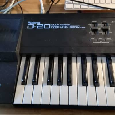 Roland D-20 Multi Timbral Linear Synthesizer and Multitrack Sequencer