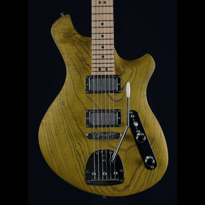 Malinoski Hornet #387 New Luthier Build Handwound Gold Foil Pickups Vintage Style for sale
