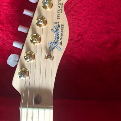 Fender James Burton US Signature Telecaster 1994 Gold Paisley for sale