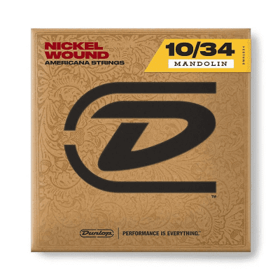 Dunlop DMP1034 Phosphor Bronze Mandolin Strings - Light (10-34)