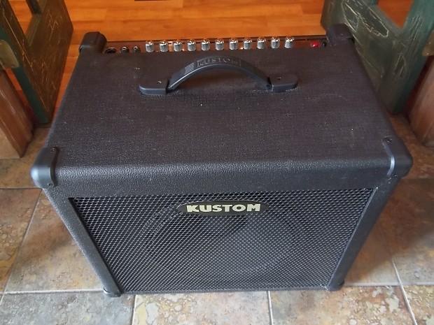 kustom kba65 65 watt combo bass guitar amplifier reverb. Black Bedroom Furniture Sets. Home Design Ideas