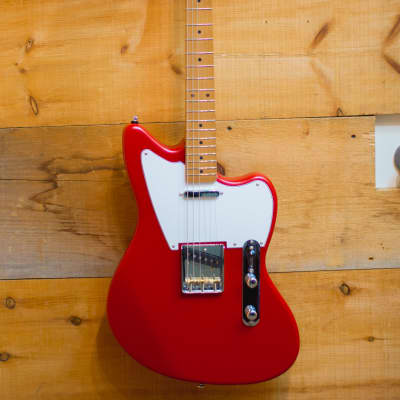 Palermo Custom Shop Jazz Bastard Electric Guitar 2018 Fiesta Red NEW FREE SHIPPING for sale