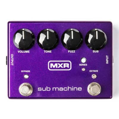 MXR MXR M225 Sub Machine Octave Fuzz Guitar Effects Pedal for sale