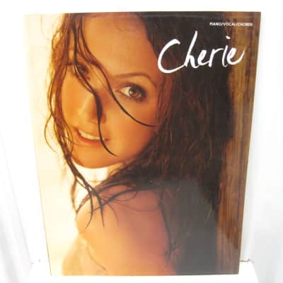 Cherie Sheet Music Song Book Songbook Piano Vocal Guitar Chords by Warner Bros