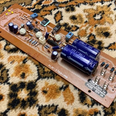 Korg Polysix 80's KLM-376A-PS Power Supply Board