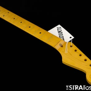 NEW Fender Lic Allparts Stratocaster NECK Strat Maple Vintage Tint NITRO SMNF for sale