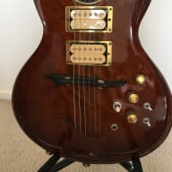 Jesselli Guitar 1980 Walnut for sale