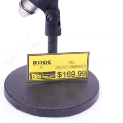Rode NT3 Studio Condesor Microphone - Previously Owned