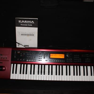 Korg Karma 61-Key Music Workstation w/case and parameter guide