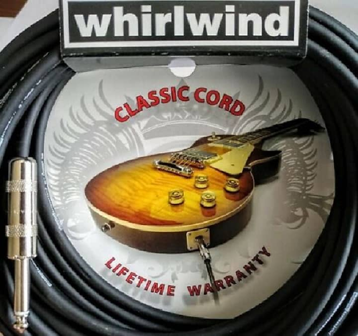 Whirlwind Leader L10 10ft Electric Guitar Bass Cable Cord Handmade USA