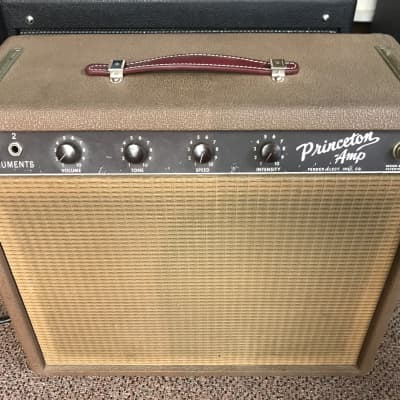 1963 Fender Princeton brown cocoa tolex brownface for sale