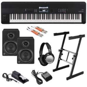 Korg KROME-88 Music Workstation COMPLETE STUDIO BUNDLE