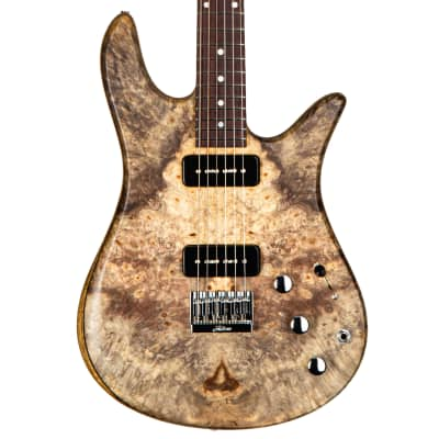 Fodera Buckeye Burl Monarch P902 Guitar for sale