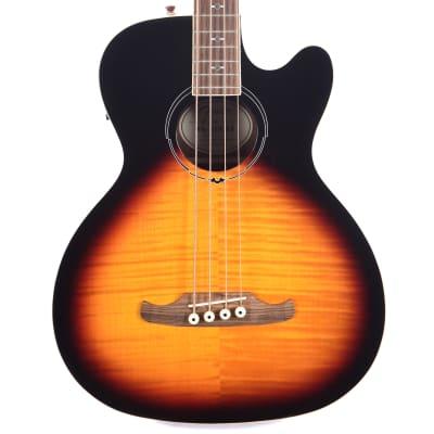 Fender FA-450CE 4-String Maple / Mahogany Acoustic Bass with Laurel Fretboard 3-Tone Sunburst