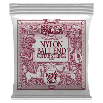 Ernesto Palla Black & Gold Ball-End Nylon Classical Guitar Strings
