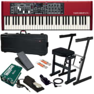 Nord Electro 5D 61 Stage Keyboard STAGE ESSENTIALS BUNDLE