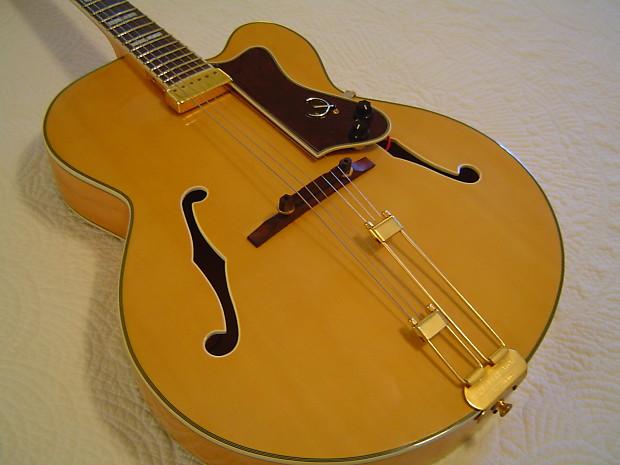 VV: IMMACULATE Epiphone Emperor Regent (Korean) archtop guitar, OHSC