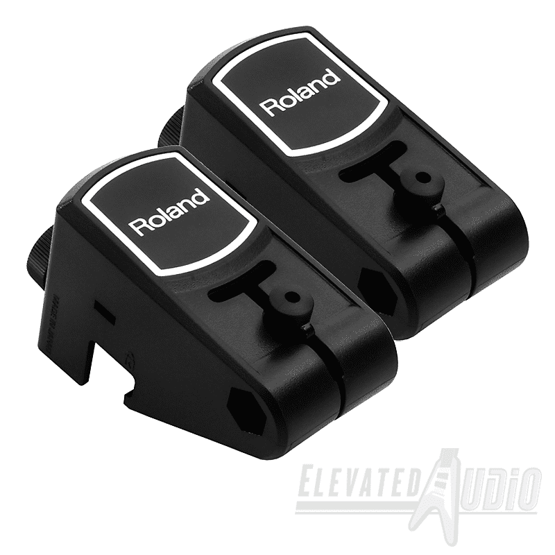 2x roland rt 10t acoustic drum triggers new buy from reverb. Black Bedroom Furniture Sets. Home Design Ideas