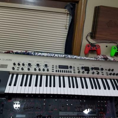 Korg King Korg Synthesizer 2013 Gold On Black