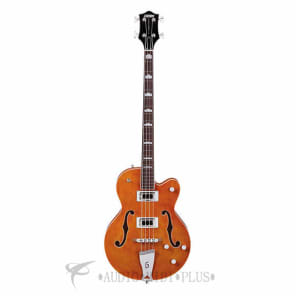 Gretsch G5440LSB Electromatic Hollow Body Long-Scale Black Top Filter'Tron Pickups 4-String for sale