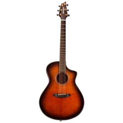 Breedlove Performer Concert Bourbon CE Torrefied European-African Mahogany, Acoustic-Electric