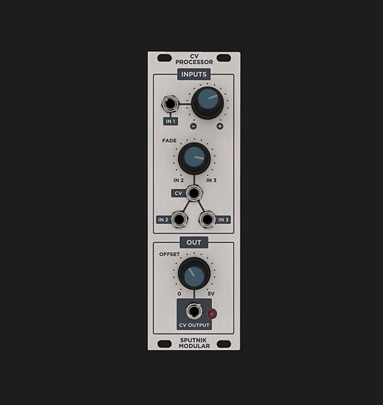 sputnik modular cv processor