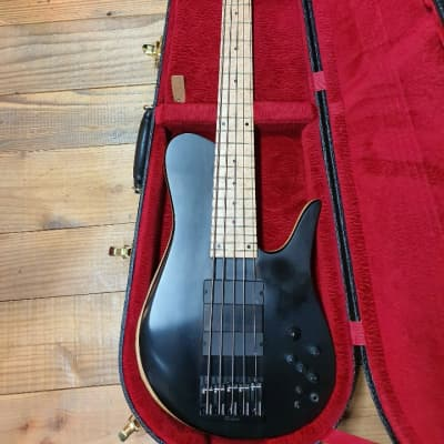 2016 Fodera Ebony Imperial 5 Elite 5 String High End Bass Guitar EMG 40DC 40J for sale