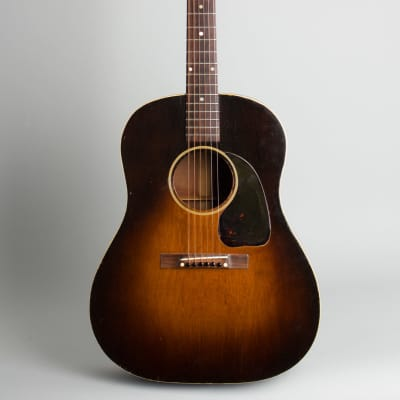 Gibson  J-45 Flat Top Acoustic Guitar,  c. 1943, ser. #2329-4, black tolex hard shell case. for sale