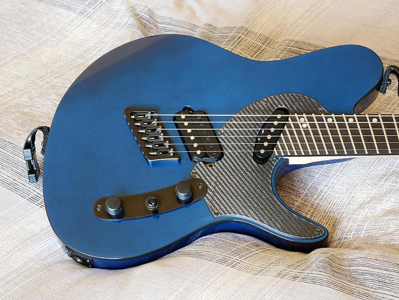 Ormsby Guitars TX GTR Carbon Run 2 Blue Pearl Multiscale | Reverb