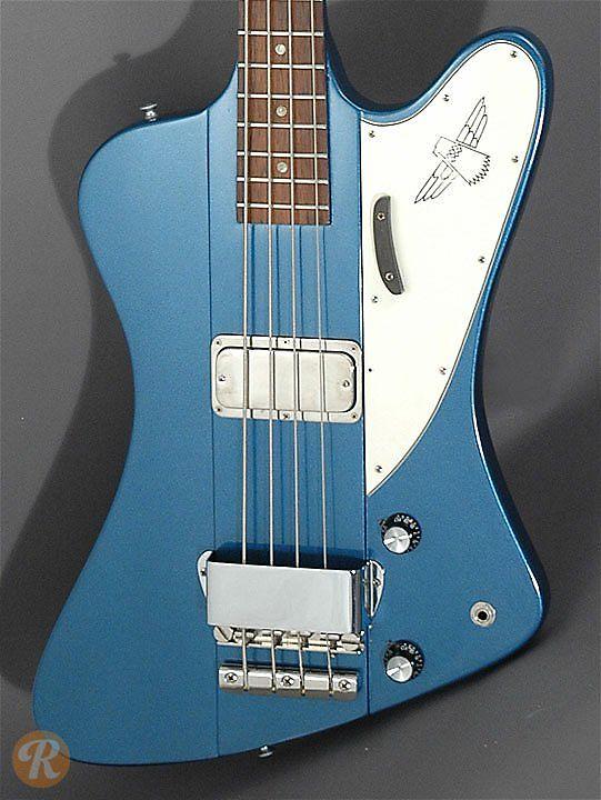 Gibson Thunderbird Ii Pelham Blue 1965 Reverb