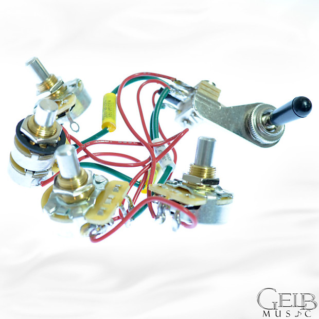 Rickenbacker 4 Control Wiring Harness with Tone Circuit - | ReverbReverb