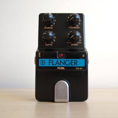 Pearl FG-01 (FG01) Flanger Vintage Flanger Guitar Pedal, Made in Japan for sale