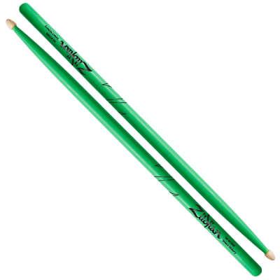 Zildjian Z5AACDGG Hickory Series 5A Wood Acorn Tip Drum Sticks