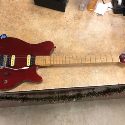 OLP MM1 Electric Guitar Ernie Ball Red for sale